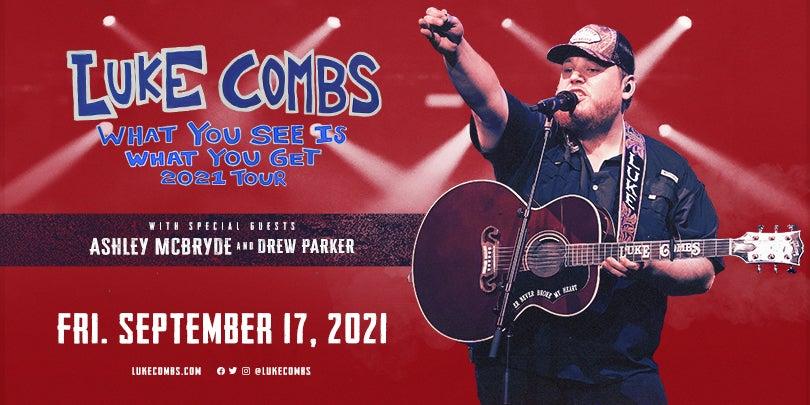 Luke Combs Rescheduled Alerus Center