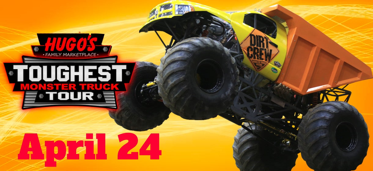 Hugo's Toughest Monster Truck Tour - Rescheduled