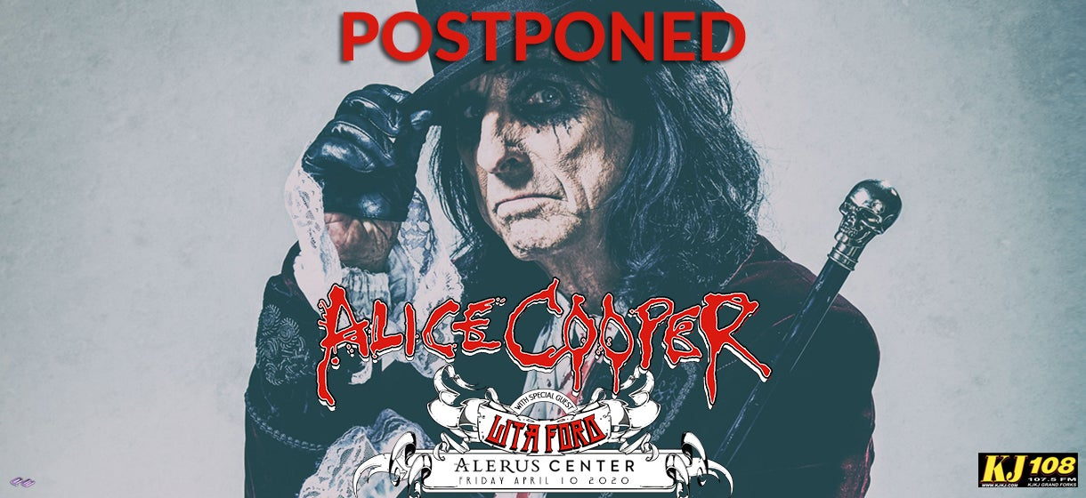 Alice Cooper - POSTPONED