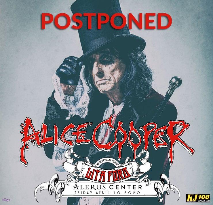 More Info for Alice Cooper - POSTPONED