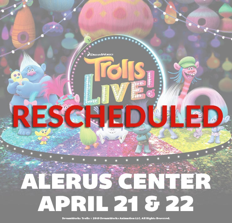 More Info for Trolls LIVE! - Rescheduled