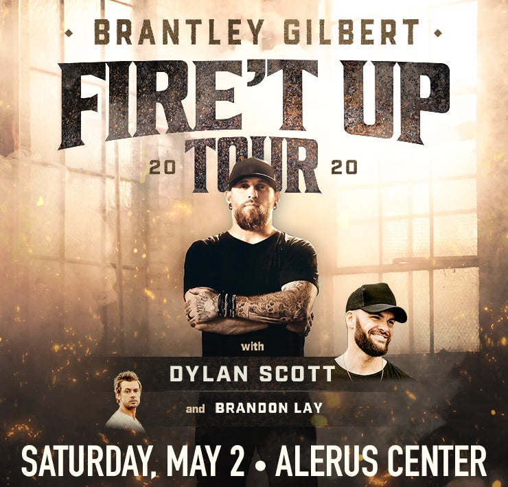 Brantley Gilbert Alerus Center