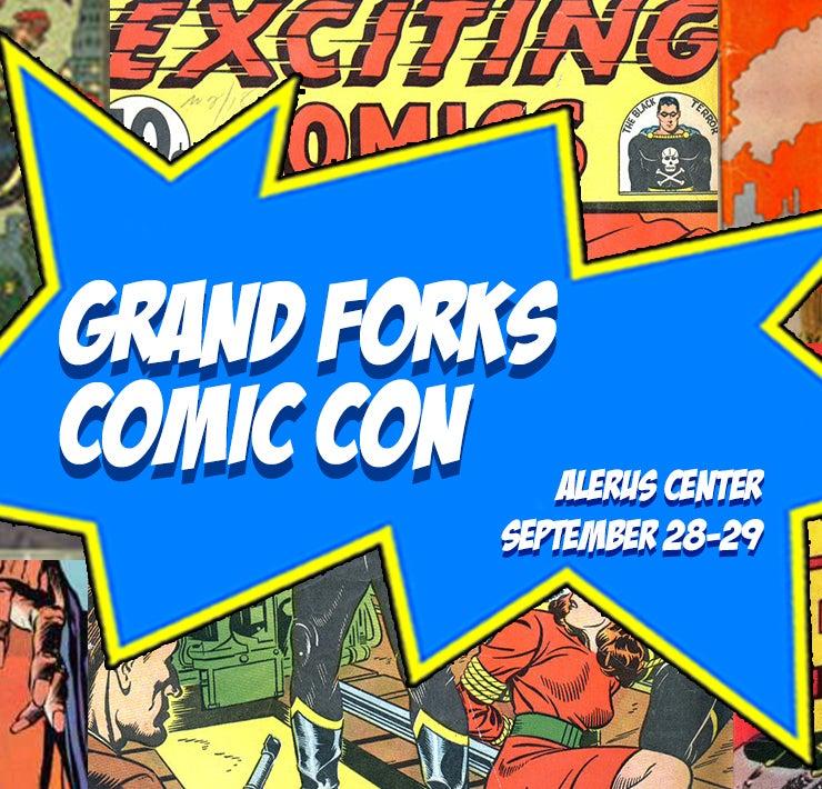 More Info for Grand Forks Comic Con