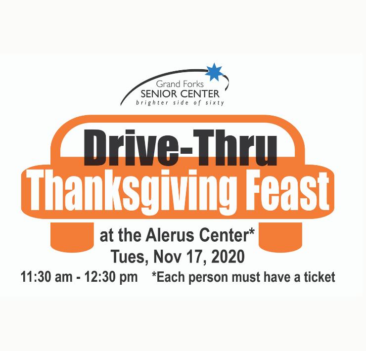 More Info for Grand Forks Senior Center's Drive-Thru Thanksgiving Dinner