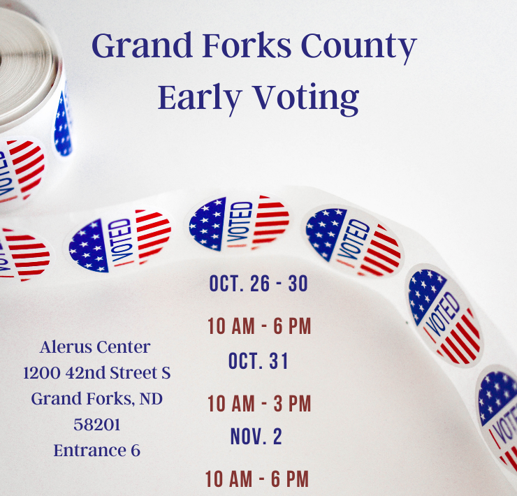 More Info for Grand Forks County Early Voting