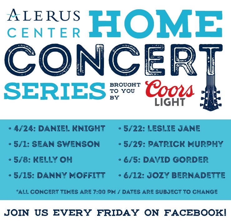 More Info for Alerus Center Home Concert Series Brought To You By Coors Light