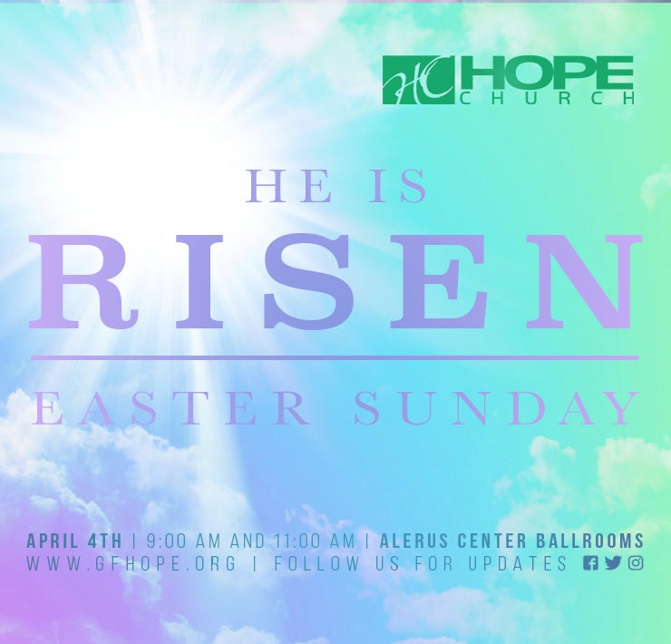 More Info for Hope Church's Easter Sunday Service