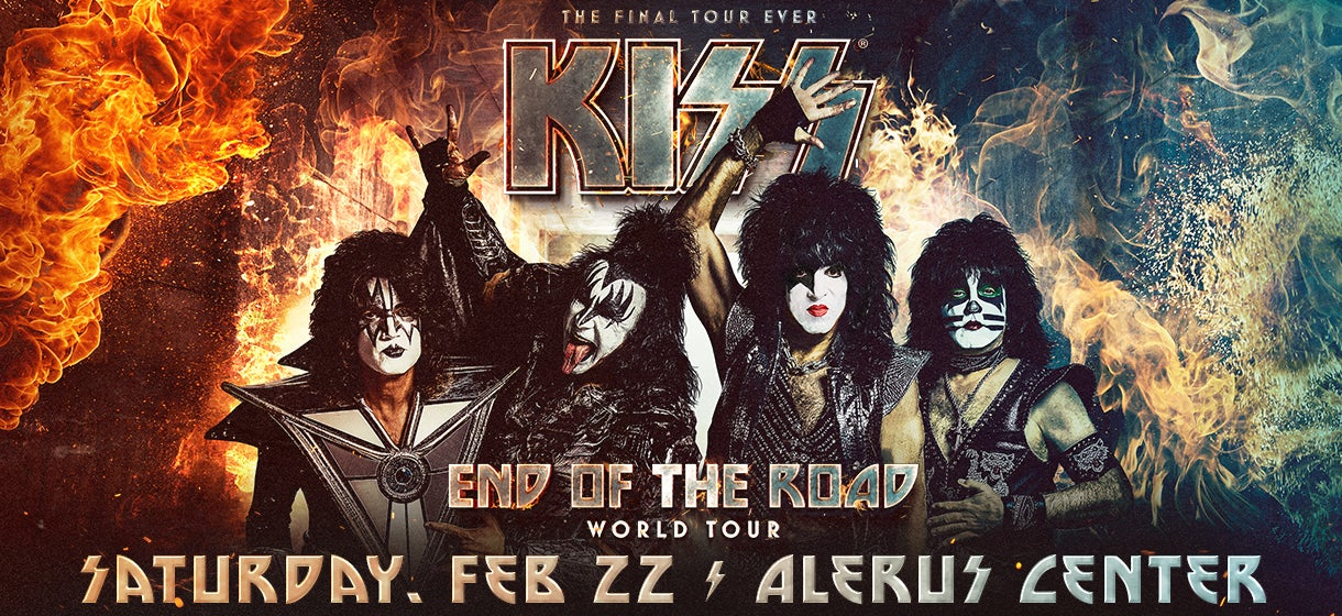 Kiss Tour 2020.Kiss Alerus Center