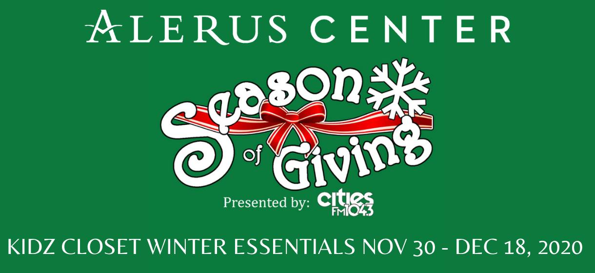 More Info for Season of Giving: Kidz Closet Winter Essentials Drive