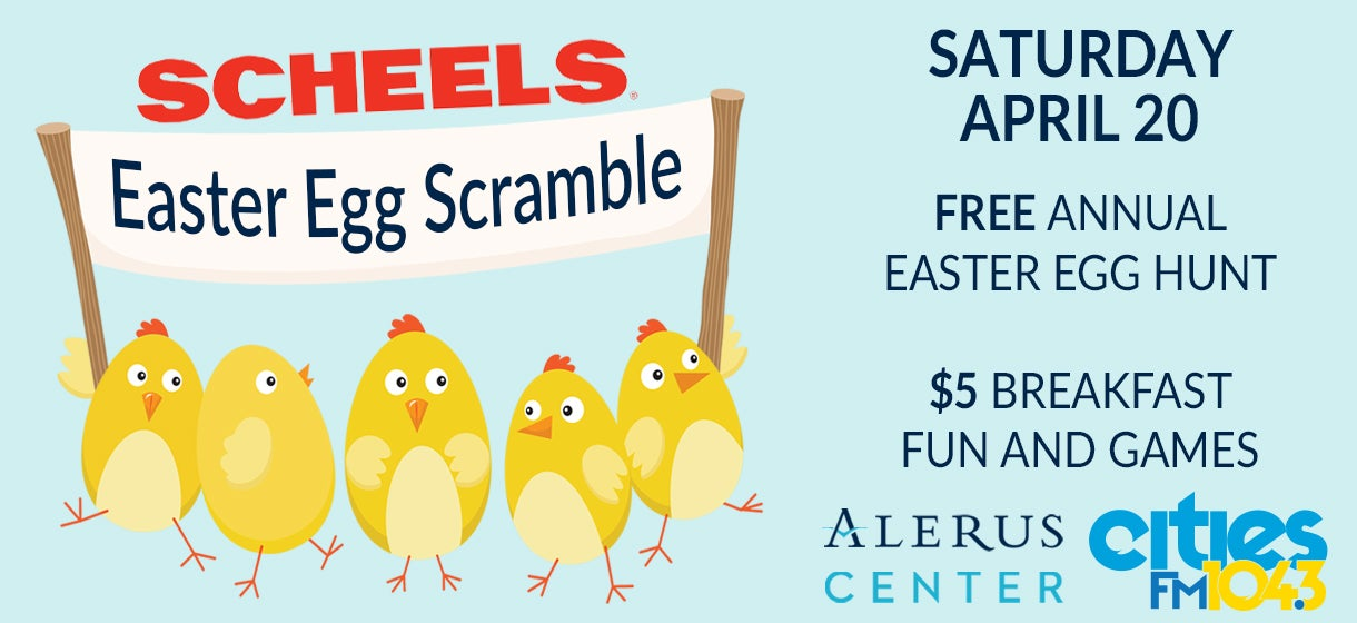More Info for SCHEELS Easter Egg Scramble